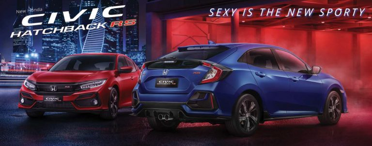 NEW RELEASE :  Honda Civic Hatchback RS