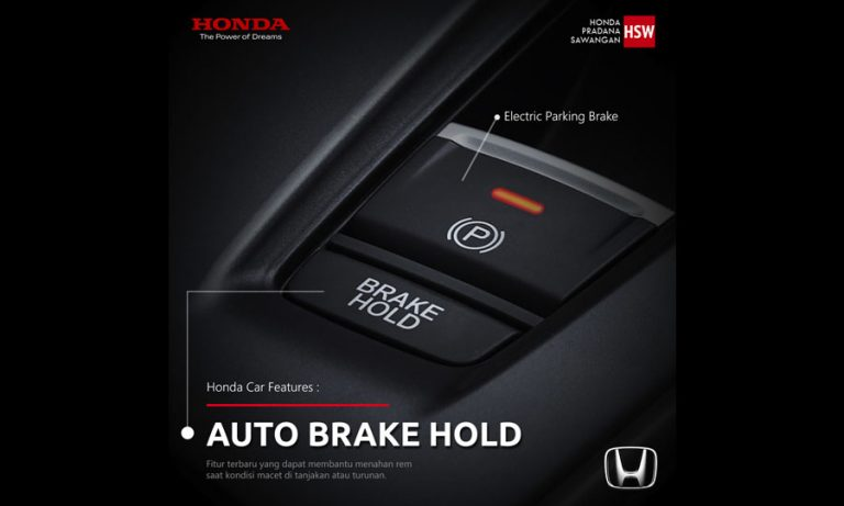 HONDA CAR FEATURES : AUTO BRAKE HOLD