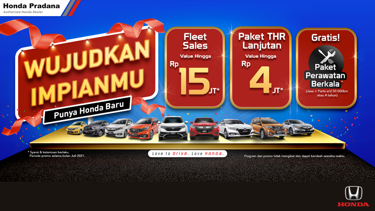 Read more about the article Wujudkan Impianmu Punya Honda Baru