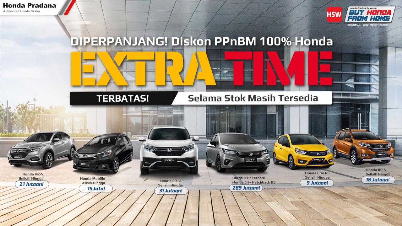 Read more about the article Harga Terbaru PPnBM 0% Mobil Honda